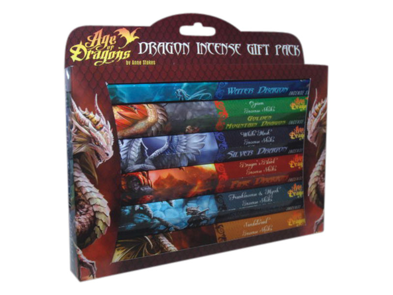 Age of Dragons - lot 6 encens Anne Stokes Bloom Web