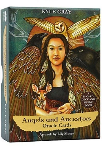 Angels and Ancestors Oracle Cards 9781788170017 Kyle Gray Cartes Shop Spirituel