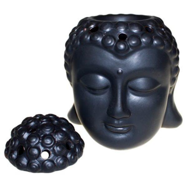 Diffuseur huiles essentielles Bouddha noir Shop Spirituel