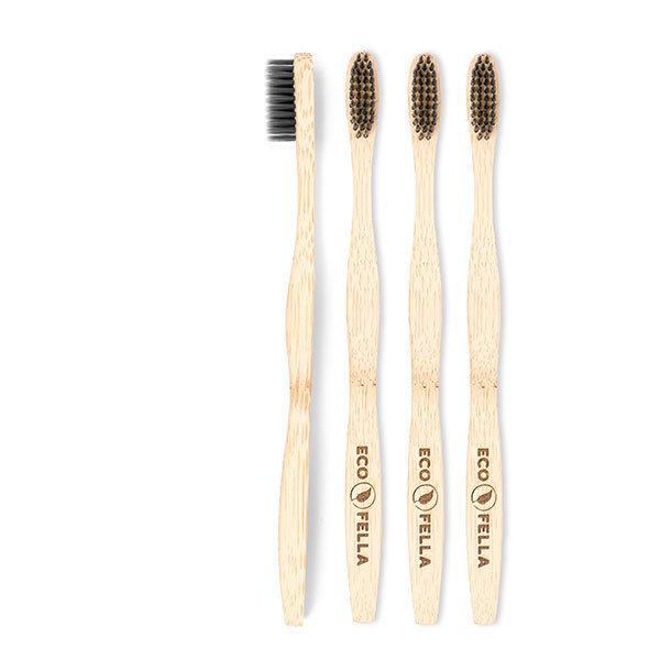 Brosse à dents écologique en bambou Eco Fella Shop Spirituel