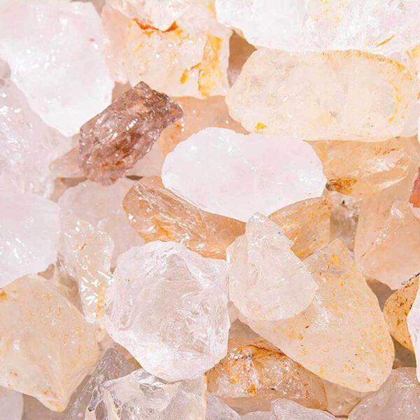 Cristal de roche brut - 5 pièces - Shop Spirituel