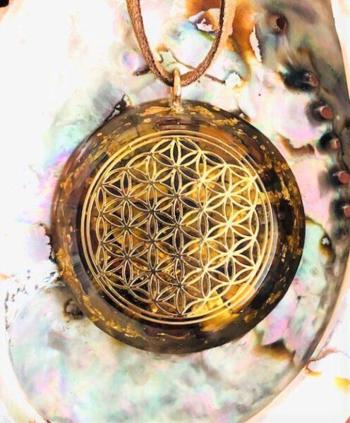 Collier Fleur de Tigre mystique Shop Spirituel
