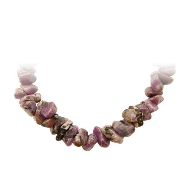 Bracelet pierre précieuse Rhodonite Shop Spirituel