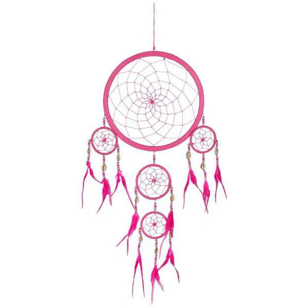 Grand Attrape-rêves Rose Shop Spirituel