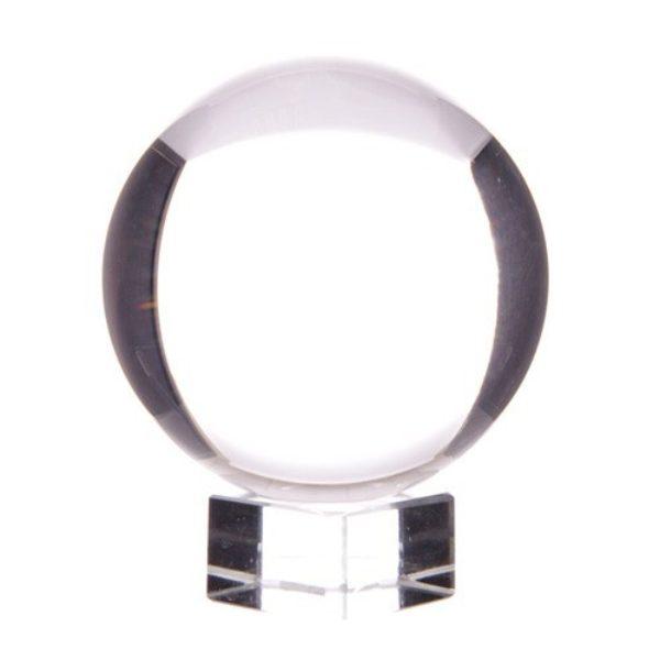 Boule de Cristal 80 mm sur socle Shop Spirituel