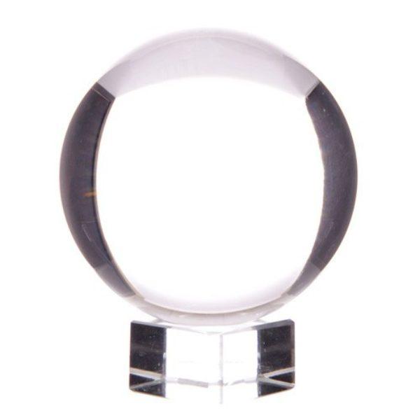 Boule de Cristal 150 mm sur socle Shop Spirituel