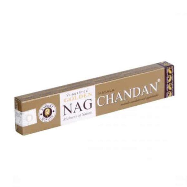 Encens Indien Golden Nag Chandan Shop Spirituel