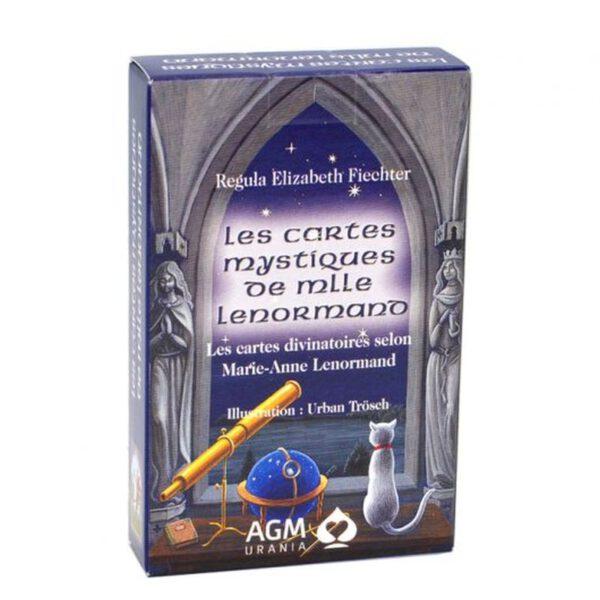 Les cartes mystiques de Mademoiselle Lenormand 9783038190424 Elizabeth Fiechter Shop Spirituel