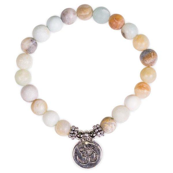 Bracelet Mala Amazonite - Om Shop Spirituel