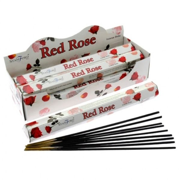 Encens roses rouges - pack avantage - Shop Spirituel