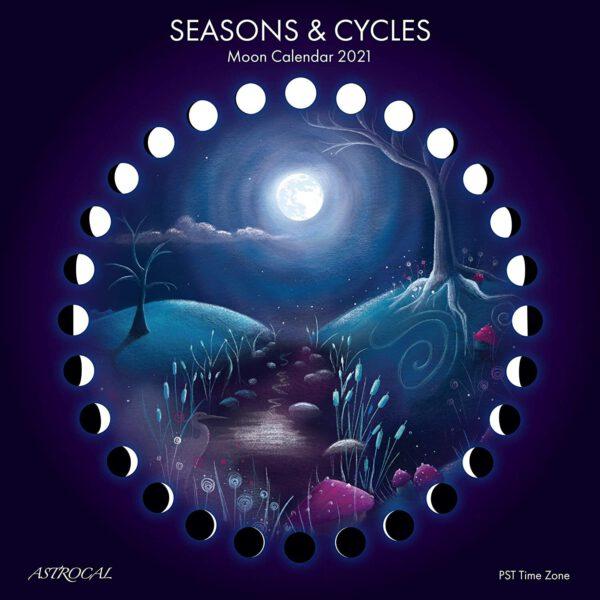 Cycles des saisons Calendrier lunaire 2021 Shop Spirituel
