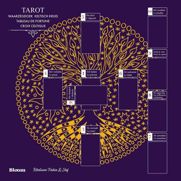 Tapis de cartomancie - Tarot Croix Celtique - Fabio Vinago
