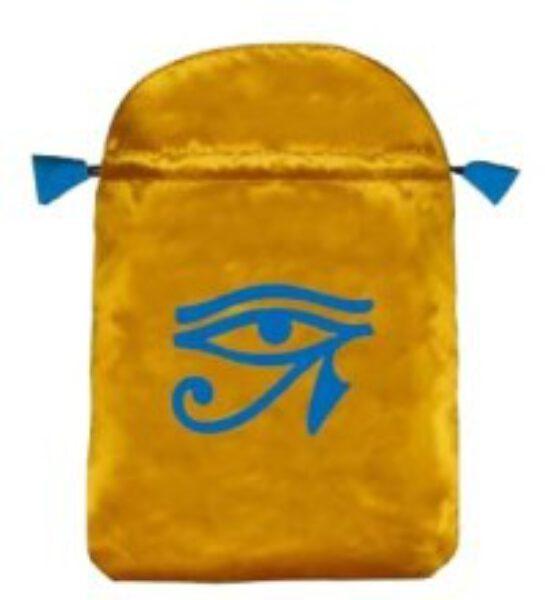 Pochette / bourse pour cartes Tarot - oeil d'horus - Shop Spirituel
