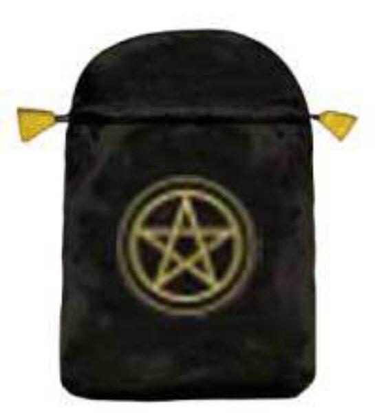 Pochette / bourse pour cartes Tarot - Pentagramme - Shop Spirituel